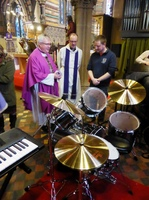 New instruments commissioned by Bishop Andrew Proud